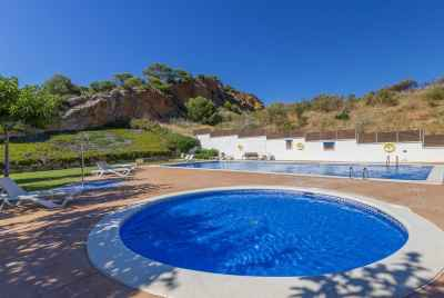 Townhouse with swimming pool in Castelldefels close to Barcelona